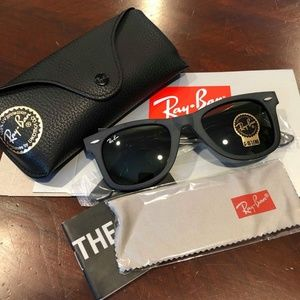New Authentic Ray-Ban RB2140 WAYFARER